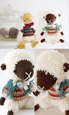 free sheep crochet pattern