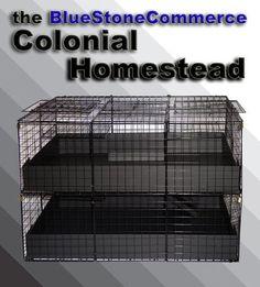 Guinea pig cage design