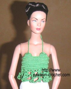 Top crochet doll Tyler