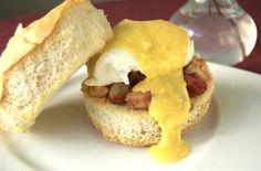 Shrimp Eggs Benedict