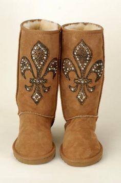 fleur de lis boots...love