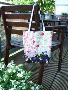 Reversible tote bag, sewing pattern bag sew, tote bags, bag tote