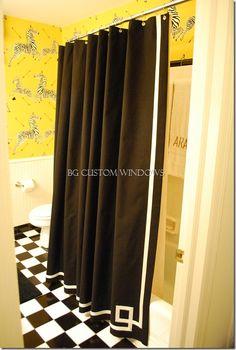 Shower Curtain Banding