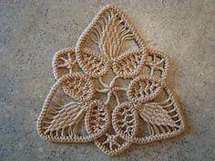 Romanian Point Lace Tutorial / Pattern - Beautiful! tutorials, photo tutorial, crochet braids, crochet ornaments, lace tutori, romanian point, crochet patterns, point lace, lace patterns