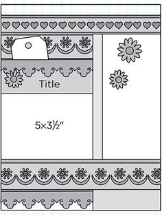 8 1/2 x 11  would be pretty with lace