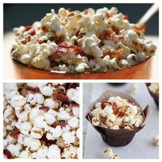 Bacon Truffle Parmesan Popcorn