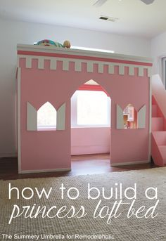 How to build a castl