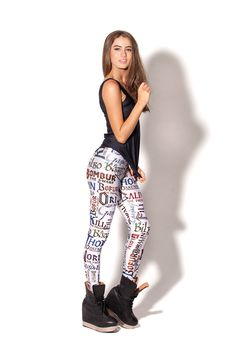 Names White Leggings, $85AUD