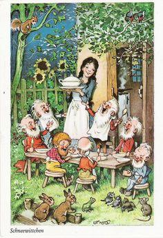 Fritz Baumgarten's Snow White, from Marleen H, via Flickr