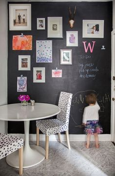 Delightful Wall Decor Ideas : kitchen chalkboard