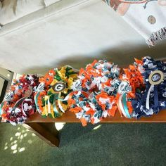 Easy DIY NFL Wreaths to Get the Season Started!!!