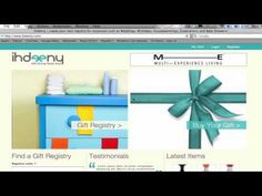 How to use ihdeeny the #MENA region's first gift registry website
