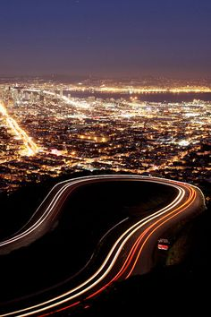 The gorgeous view from Twin Peaks is a must see!