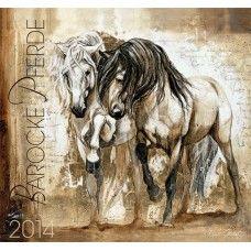 Baroque Horses by Elise Genest