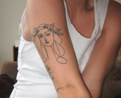 Picasso #tattoo #tatouage #ink