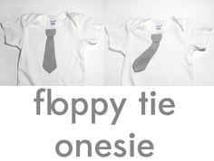 floppy tie onesie tutorial - see kate sew