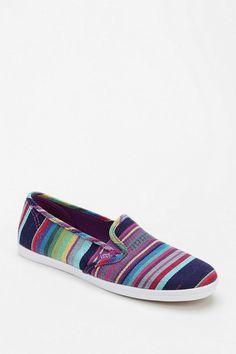 Vans Lo Pro Multi Stripe Women's Slip-On Sneaker #urbanoutfitters