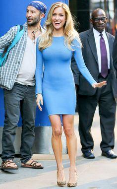 Kristin Cavallari steps out looking beautiful in blue!