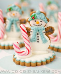 Snowman cookie
