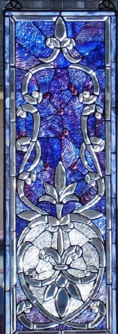 royal blue, mosaic style, stained glass, stain glass777