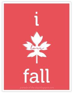 I love fall too!
