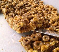 Peanut Butter Cheerio Squares