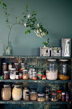 Learn a few storage and organization ideas for your pantry.