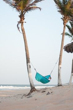 So relaxing on the beach...