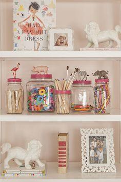 Cute jars for storage. MTK