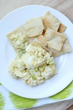 Zesty Egg Salad ~ one of my ideal lunch dishes! | 5DollarDinners.com