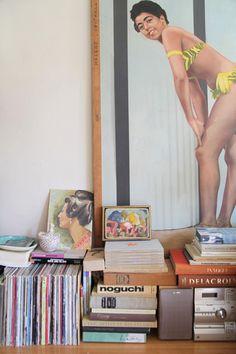 books, vintage, bikinis, art, burlesque, paintings, burlesqu poster, posters, antiques