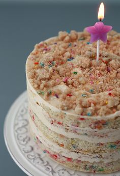 Homemade Momofuku Milk Bar Birthday Cake by kitchenhealssoul