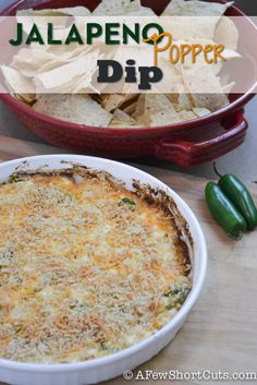 Jalapeno Popper Dip Recipe! Perfect for Football Season!