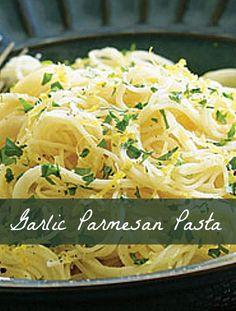 Angel Hair Pasta in Garlic Butter