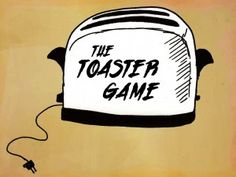 tension builds as possible toast spreads are read until toast pops... student must eat toast with spread that is called