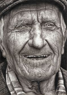 This is a pencil drawing by a kid who I read about about and can't recall the name. Impressive by any measure.