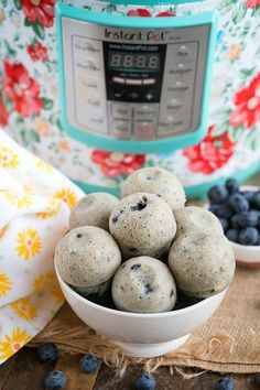Instant Pot Blueberry Muffins