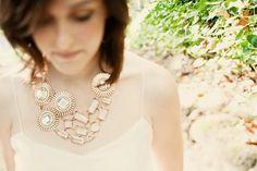 fashion, statement necklaces, wedding styles, jewelri idea, jewelry accessories, diy necklace, diy jewelri, fall weddings, blog