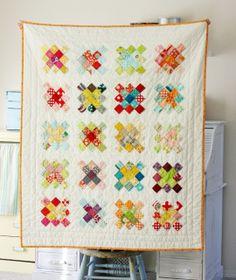 Blue Elephant Stitches: Granny Square Quilt Block Tutorial