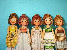 success craft, vintage paper dolls, craft blogs