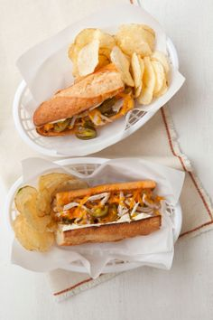 Chicken recipes: Cheesy Chicken and Jalapeno Sandwiches