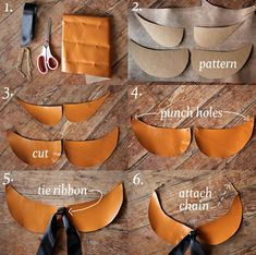 DIY No-Sew Peter Pan Collar