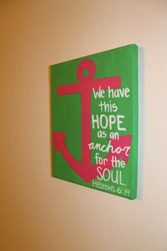Gonna copy this idea minus the scripture. Maybe put our favorite quote on it. Crossing my fingers I don't mess it up! I'm a terrible artist