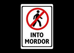 Into Mordor (XL)