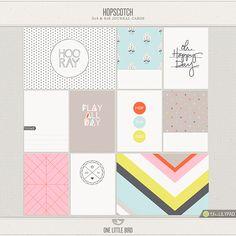 Hopscotch Journaling Cards