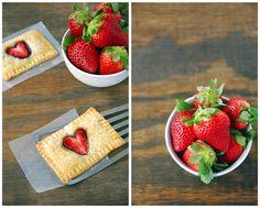 breakfast, homemade, poptart, kid, kids, valentine's day, vday, v-day, valentines day, heart, strawberry, jam, preserves, nutella, chocolate...