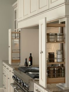 Wall Pull Outs - kitchen cabinets - minneapolis - by Mid Continent Cabinetry
