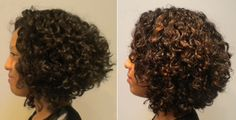 Another Deva Curl cut & styling.