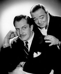 Vincent Price & Peter Lorre