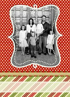 christmas card template-free